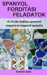 Spanyol fordítási feladatok e-könyv borító