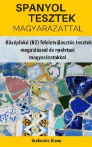 Spanyol tesztek e-könyv borító